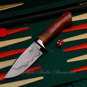 Leather handle hunter